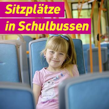 FDP Erding Banner Plakat Sitzplätze in Schulbussen Archiv
