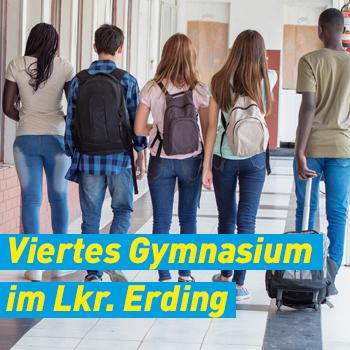 FDP Erding Banner Beitrag Viertes Gymnasium im Landkreis Erding