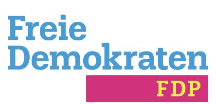 FDP Erding Logo Banner Schriftzug